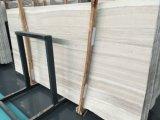 Perlino Bianco 백색 목제 곡물 Polished 백운석 대리석