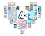 3D tissu non-tissé mou de l'Anti-Fuite SMS pour la couche-culotte (HU-039)