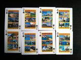 Cartões de jogo do papel do Algarve