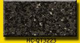 Pedra artificial Polished bege de quartzo para telhas da parede