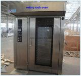 Apparatuur 16 van de bakkerij de Elektrische Roterende Oven van Dienbladen met het Werk Video's