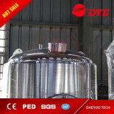 Fermentadoras cónicas vestidas de enfriamiento vestidas de la fermentadora 2000L de la cerveza del glicol del acero inoxidable