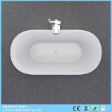 Bañera de acrílico clara inconsútil de la venta caliente con la fibra de vidrio reforzada de la fábrica de Hangzhou (LT-701)