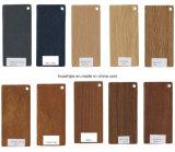 색깔 카드를 가진 박판으로 만들어진 PVC Porfiles