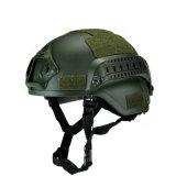 Iiia水平なMich Aramidの防弾弾道ヘルメット