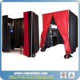 La pipe pliable de cabine de photo d'entreprise manufacturière et drapent en gros