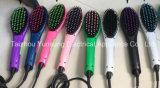 2017 elektrischer LED Haar-Strecker-Pinsel für das Geraderichten des Haares