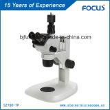 Microscopio continuo de la estereofonia del zoom de la lente de zoom