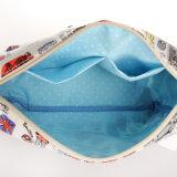 L'horizontal de Londres modèle Madame imperméable à l'eau Handbag (2661) de toile de PVC