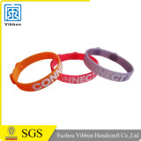 Custom Rubber Bracelet Band Silicone Wristband with Logo Design