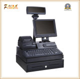 Registo de dinheiro terminal eletrônico da posição para o sistema Point-of-Sale QC-350