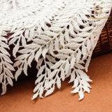 L20015 Stof van het Kant van de Polyester van het Kledingstuk van het Huis de Textiel met Leeswijzers