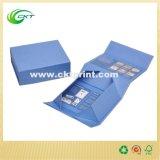 Коробка изготовленный на заказ подарка упаковывая в плоской конструкции (CKT- CB-149)