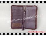 Бумажник пасспорта перемещения 2016 новый кожаный Brown от фабрики Гуанчжоу