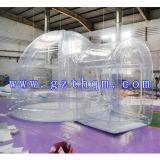 Tenda gonfiabile della bolla della cupola pulita impermeabile