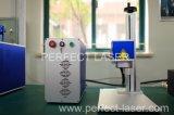 Marcador do laser da fibra do Tag de orelha para o metalóide e o metal