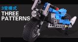 Plastik 3 in 1 Harley Motorrad blockt Spielwaren 240PCS