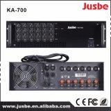 Ka700 6チャネルPAシステム200WクラスHの電力増幅器