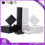 Коробка ювелирных изделий подарка индикации серьги кольца упаковывая бумажная