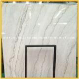 높이 Polished 백색 대리석 석판, 중국 Guangxi 백색 돌
