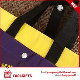 Foldable非編まれた浜袋、ギフトのための折るショッピングトートバック