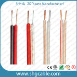 Hot Sale 2 Cores Transparent Speaker Cables (SPKT-2/75)
