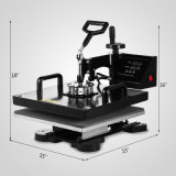 """Bloc supérieur neuf 15 machine de Digitals de sublimation de T-shirt de presse de transfert thermique de """" X 15 """" (38 x 38cm)"""