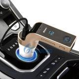 2017 neuer bester G7 USB Radio-MP3 Bluetooth FM Transimitter der Telefon LED-Bildschirmanzeige-4 in-1 für Auto