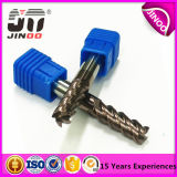 4 Flautas Metal Duro Flat End Mill con Altin Coating