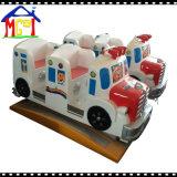 Fibra de vidrio Swing Bus Coin Operated Kiddie Ride