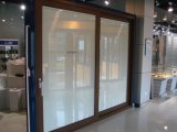 Алюминиевая раздвижная дверь рамки (с автоматической штаркой) с шторками