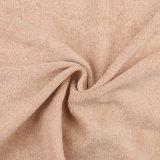 Tela orgánica de la galleta del algodón de la tela orgánica del dispositivo de seguridad 200GSM de Jersey del algodón