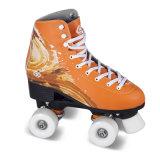 大人(QS-43-1)のための柔らかいブートのクォードのローラースケート
