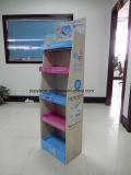 Étagère de présentoir de plateaux de l'étage cinq de carton pour l'étalage de mémoire