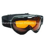 Reansonの二重レンズのAnti-Fog紫外線保護雪のゴーグル