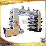4개의 색깔 HDPE LDPE PE Flexographic 인쇄 기계장치