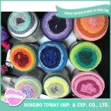 Filé mélangé par laines acryliques de Laine tricoté par textile de chandail