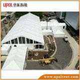 屋外の明確なガラス壁VIPの玄関ひさしの大きいイベントのテント