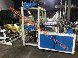 Alta velocidade 4 linhas Automático Nylon plástico lixo Lixo Compras Carregar saco Fazendo máquina Preço