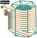 De verticale KoelTransportband van de Riem van het Voedsel Spiraalvormige Plastic Modulaire