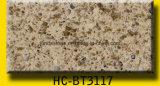 薄い灰色の水晶床タイルおよび壁のタイル
