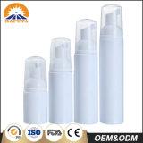 De witte Kosmetische Fles van het Schuim Custonized voor Persoonlijke Zorg