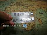 Tarjeta inteligente Impinj Monza de la viruta de la frecuencia ultraelevada RFID 4/5 escritura de la etiqueta del embutido