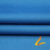 Tela elástico hecha punto de Lycra del Spandex del poliester para la aptitud de la ropa de deportes (AZUL de LTT-2025#)