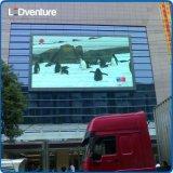 옥외 광고 매체를 위한 풀 컬러 큰 LED 스크린