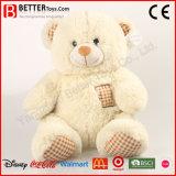 Urso animal macio remendado bonito dos brinquedos do fornecedor de China
