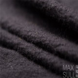100% de la máquina de lavado de lana Tela de Negro