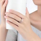 가격을%s 가진 여자를 위한 925의 순은 화이트 골드 반지 반지 디자인