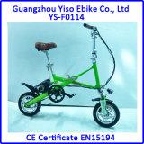 12inch pliant le mini vélo électrique intelligent de gosses, vélo se pliant d'une seconde