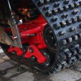 Sistema de trilha de borracha 600mm*100mm*300mm para séries de movimentação especiais